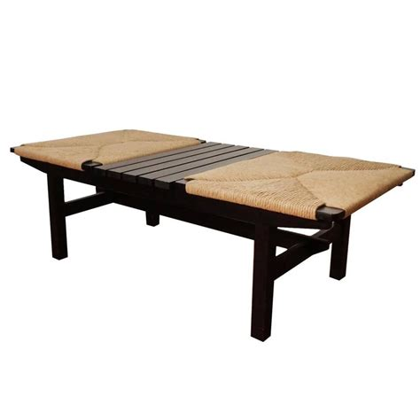 japanese benches mid century japanese bench or table at 1stdibs