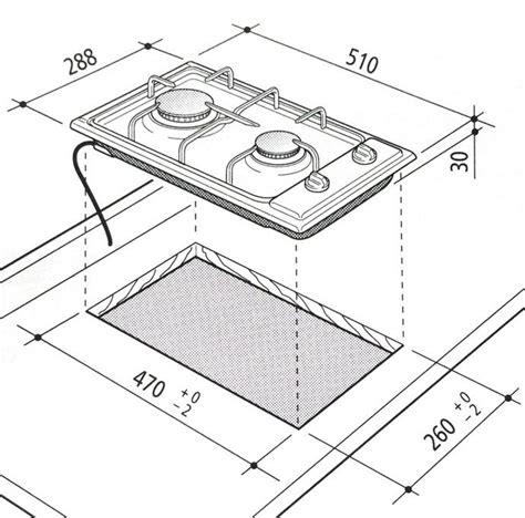 piano cottura dimensioni piano cottura da incasso 30 cm domino marrone 2 fuochi a