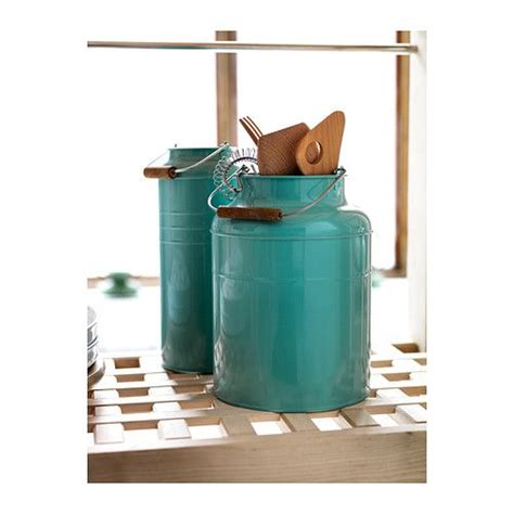 ikea kitchen canisters ikea 365 glass clear glass turquoise the plant and