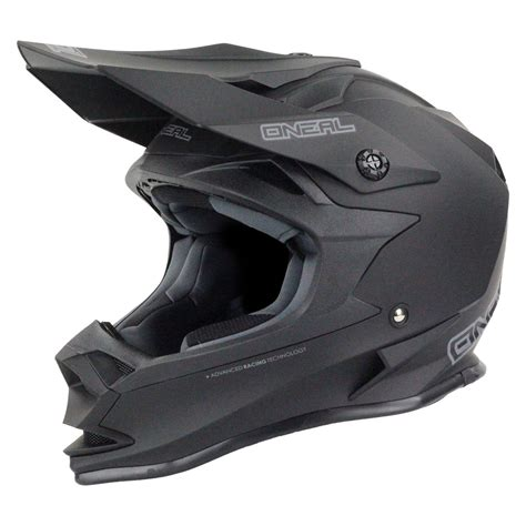 black motocross helmet oneal 2017 mx 7 series evo dirt bike motorbike matte