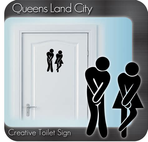 bathroom door signs funny pin funny bathroom plaques our aim keep this clean sign on