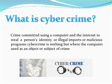 Cyber Security Notes For Mba by Cyber Crime And Security
