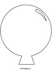 cut out template balloon template cut out coloring page