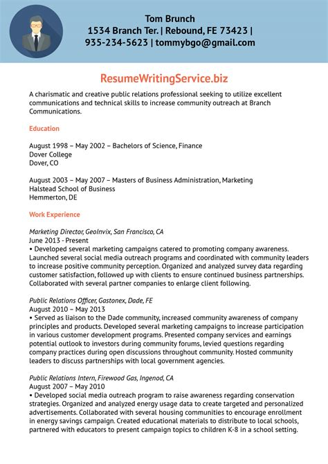 gallery of media relations cover resume about me exles