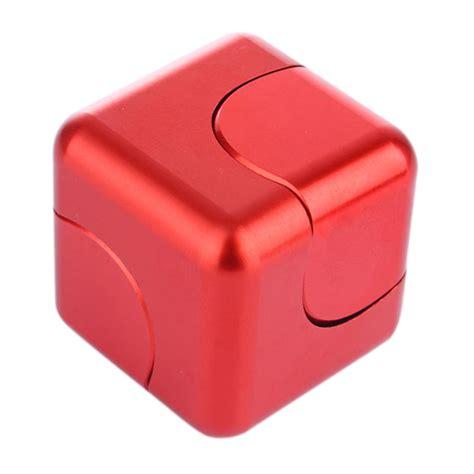 New Fidget Cube Fidget Spinner Cube Spinning Gyro cube spinner metal tri fidget focus tool desk edc cube square gift ebay