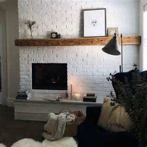 White Brick Fireplace by 17 Best Ideas About White Brick Fireplaces On
