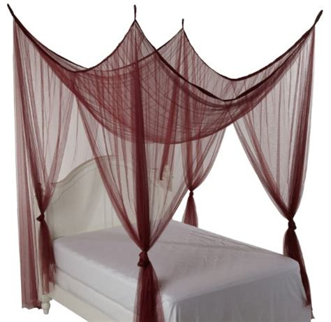 4 post bed canopy heavenly 4 post bed canopy burgundy