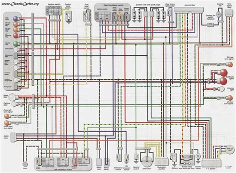 kawasaki motorcycle wiring diagram pdf wiring diagram