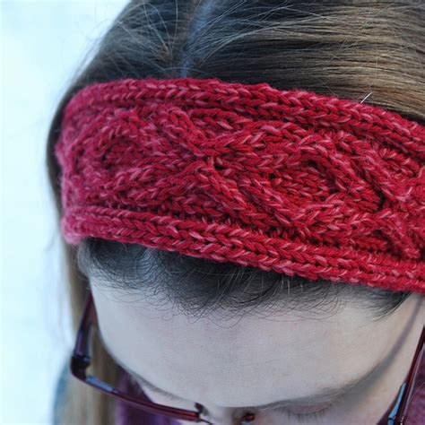 free pattern knitted headband xoxo headband a free knitting pattern the hook and i