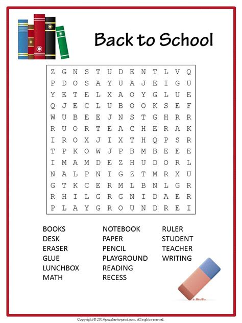 7 Back To School Solutions by 430 Best Word Search Puzzles Images On