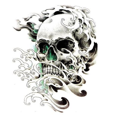 multiple skull tattoo designs 47 best 3d skull tattoos collection