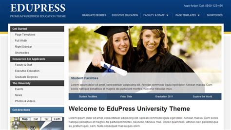 theme for education site education word press theme for your website
