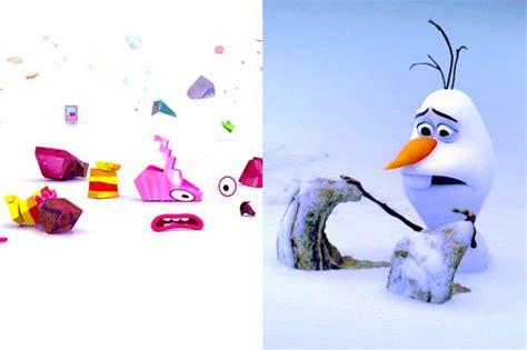 theme song inside out bing bong v olaf 12 similarities of disney pixar