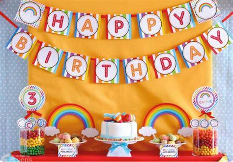 Bunting Flag Bendera Ulang Tahun Happy Birthday 7 ulasan paper rainbow flag belanja ulasan paper