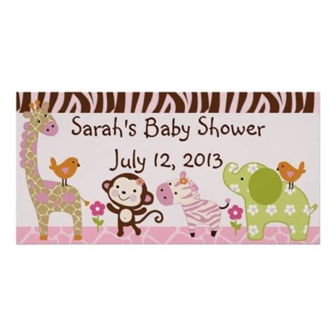 Jungle Theme Baby Shower Banner by 17 Best Images About Jungle Theme Baby Shower Supplies On