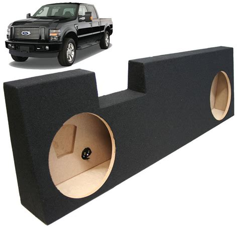 truck speakers seat 2004 2013 ford f350 crew cab truck dual 12 quot
