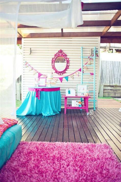 themes for girl sleepovers night owl sleepover birthday party via karaspartyideas com