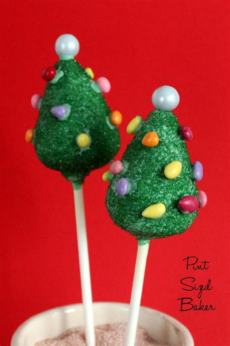 how to make christmas tree cake pops pint sized baker