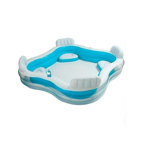 intex pool with seats family paddling pool with seats intex toys