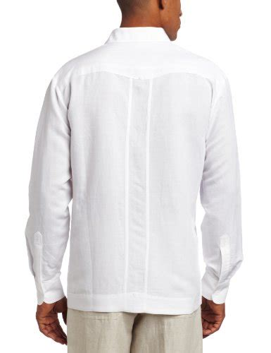 Id 911 Embroidery Oversize Blouse cubavera s sleeve embroidered guayabera shirt bright white x large apparel