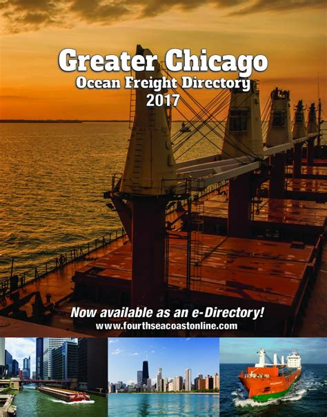 greater chicago freight directory fourth seacoast