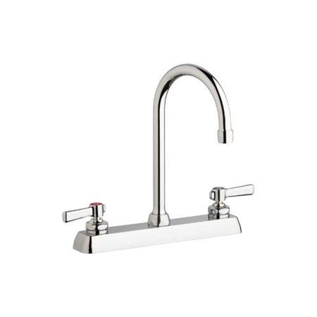 commercial grade kitchen faucets chicago faucets w8d gn2ae35 369ab commercial grade