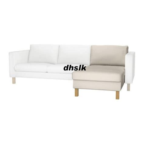 ikea karlstad slipcover ikea karlstad add on chaise slipcover cover linneryd