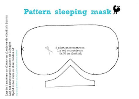 sleep mask template mask pattern search results calendar 2015