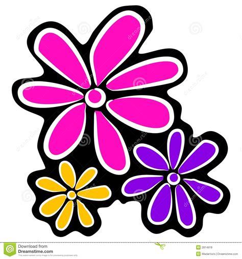 fiori clipart retro fiori astratti clipart fotografie stock libere da