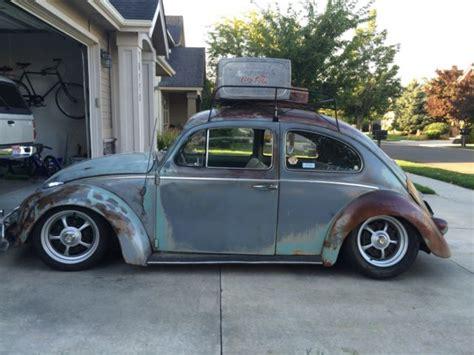volkswagen beetle classic  pastel  sale  volkswagen rare pastel interior blue vw