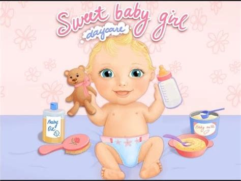 babysitter in bathtub sweet baby girl daycare bath baby sitter android game