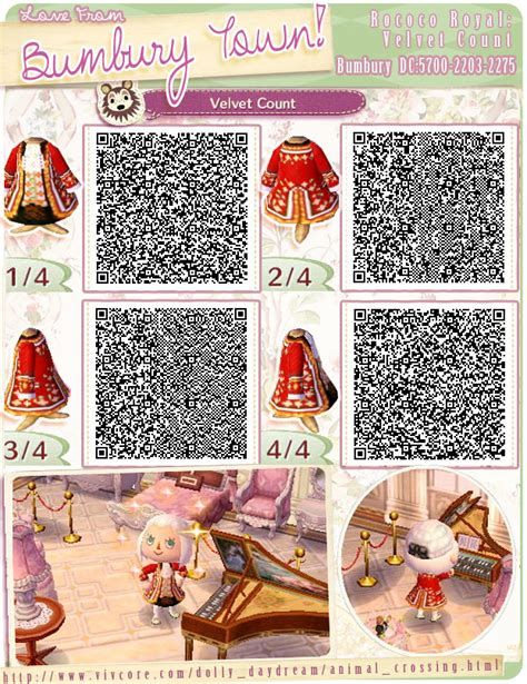 how to get the rococo set ib acnl acnl qr codes on pinterest qr codes animal crossing qr