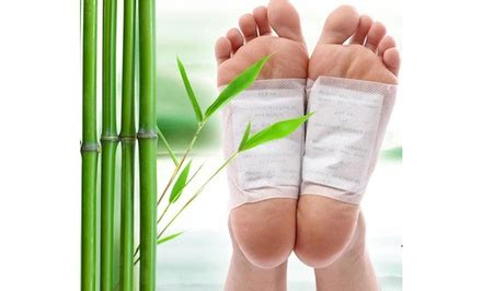 Foot Detox Okc by 10 Pack Of Kinoki Foot Detox Patches Deal Of The Day Groupon