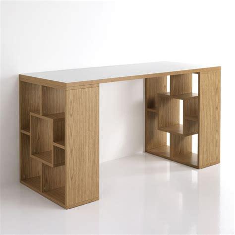 scrivania rovere scrivania modello cubo rovere piano bianco l 140 cm