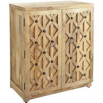 pier one wine cabinet mango wood swivel bar stool l terrain