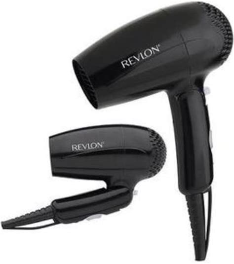 Travel Hair Dryer With Cold Setting revlon rvdr5003 travel hair dryer with folding handle great for creating styles on the go 2