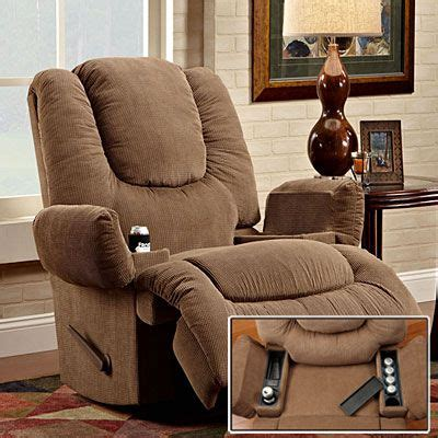 Stratolounger Rocker Recliner by Stratolounger 174 Tailgater Bronson Rocker Recliner With Heat