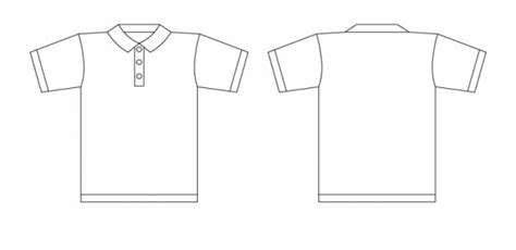 Tshirt Skyje Collar Shirt Design Template