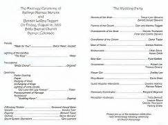 wedding vows examples renewal programs all wedding