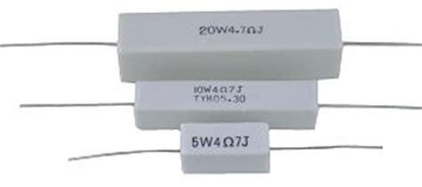 resistor keramik resistors