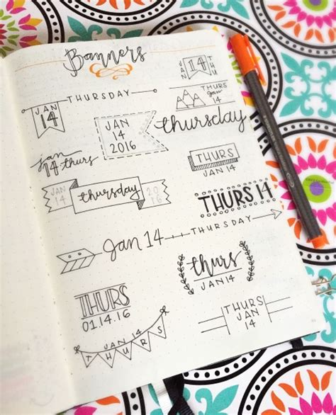 decorar titulos tumblr bullet journal collection tumblr