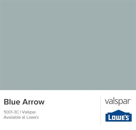 blue arrow by valspar color palette ideas