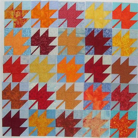 Maple Leaf Quilt Pattern by Maple Leaf Quilt Quilts