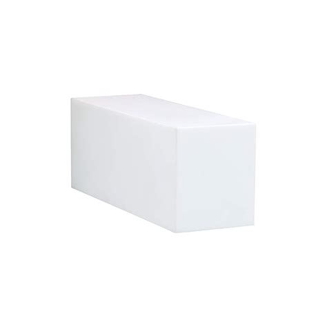 Corian Light by Twinww Outdoor Corian Wall Light White L Included