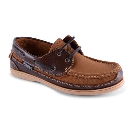 boat deck shoes mens seafarer helmsman leather nubuck boat deck shoes 2