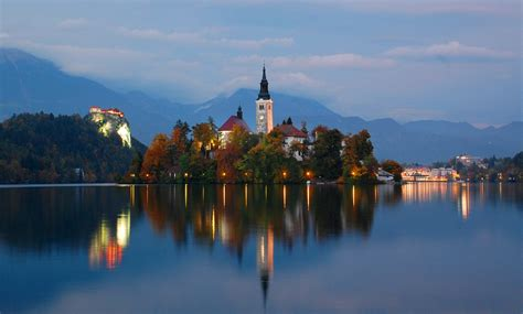 lake bled file lake bled at twilight oct 2013 jpg wikimedia commons