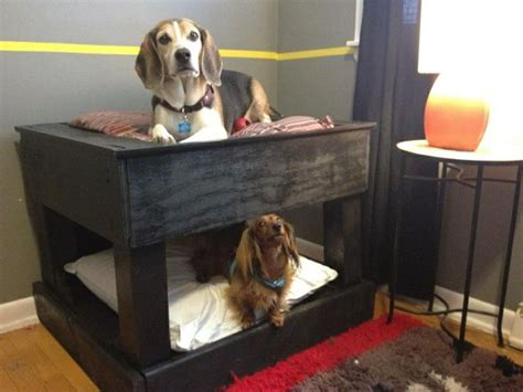 dog bed made from pallets dog bunk beds made from old pallets milliere s stuff