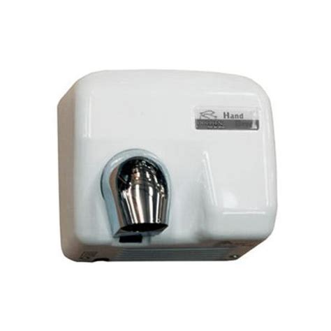 bathroom air dryer dolphin enamel coated hot air hand dryer bc2400pa at victorian plumbing uk
