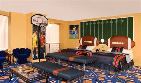 themed hotels its all in the sports creative and cool sport themed