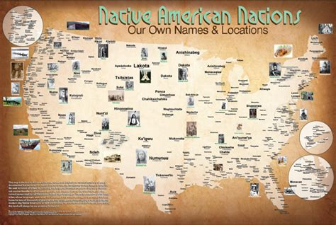 Native American Giveaway - tribal nations map native american heritage month giveaway